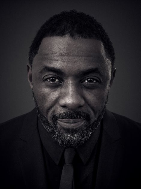 Idris Elba (b. 6 Sep 1972) photographed by Andy Gotts MBE