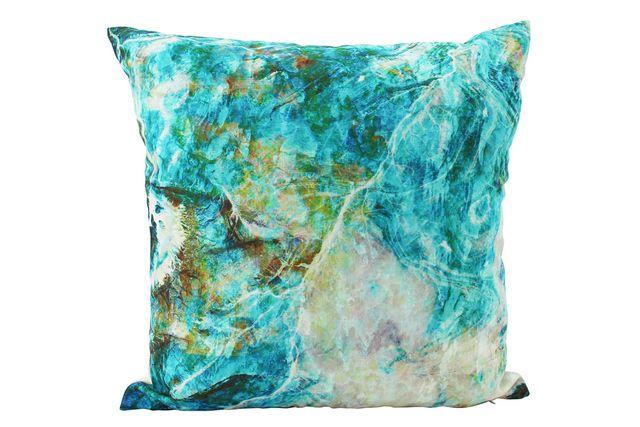 Set 4 Mineral Blues Cushions