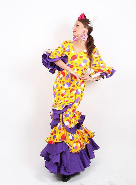 Vestidos de flamenca 2015 desde la talla 50 a la 56 desde 99 € http://www.elrocio.es/41-trajes-de-flamenca-baratos #trajesdeflamenca #trajesdeflamenca2015