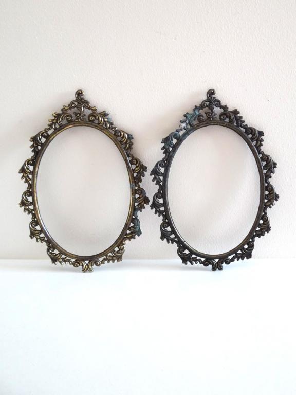 Les 25 meilleures id es de la cat gorie cadre ovale sur for Miroirs ovales