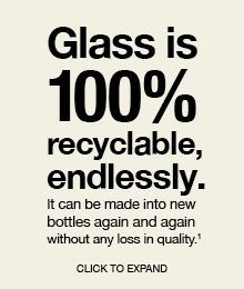 Choose glass, not plastic. #sustainability #ecofriendly