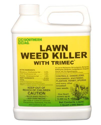 Lawn Weed Killer With Trimec Herbicide 1 Quart By Southern Ag Contains Mecoprop