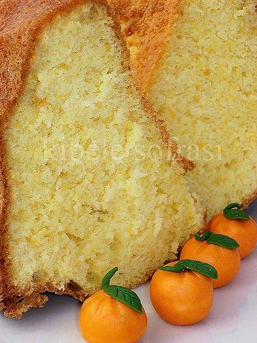 Meyveli kekleri çok severim özelliklede portakal ve limon aromalı olursa… Malzemeler: 4 yumurta sarısı 75 ml portakal suyu - 1 çay bardağ...