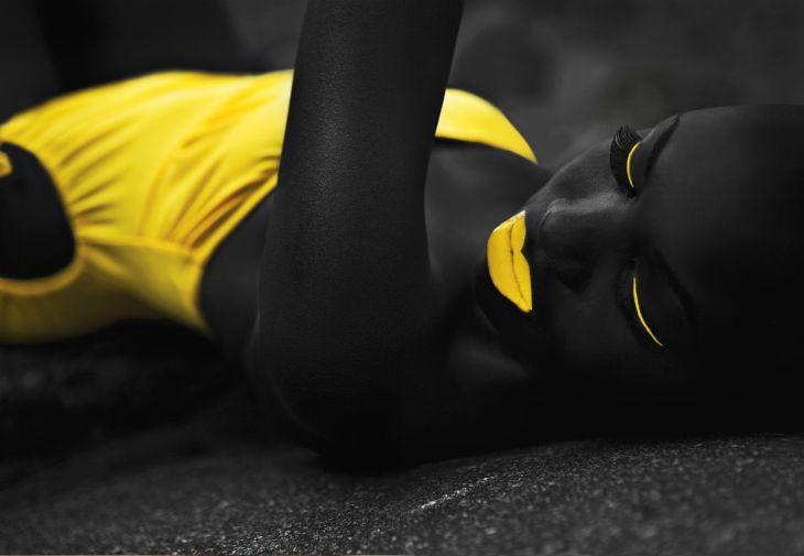 yellow lipstick on dark skin - photo #7