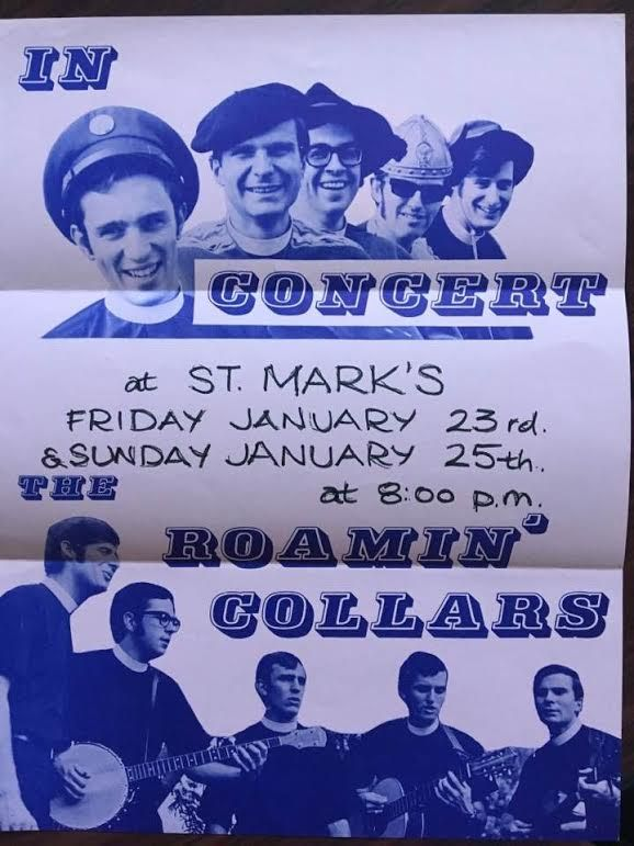 """Paulist Fr. Bruce Nieli was once part of """"The Roamin' Collars."""""""