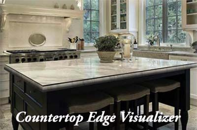 Having trouble envisioning your countertops? Try out our Countertop Edge Visualizer and determine what kind of edging you like!