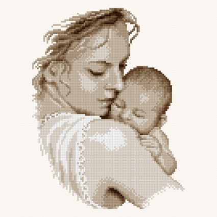 Mother & baby (FREE CHART)