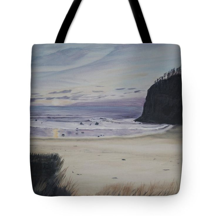 "Oregon Coast Tote Bag 18"" x 18"""