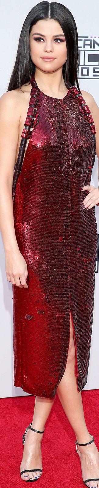 Selena Gomez in Givenchy 2015 American Music Awards p/b LOLO ~ via Marguerite Burrill