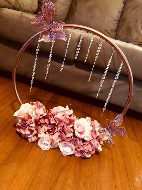 Jeweled Hula Hoop Ring Wedding In 2019 Diy Wedding