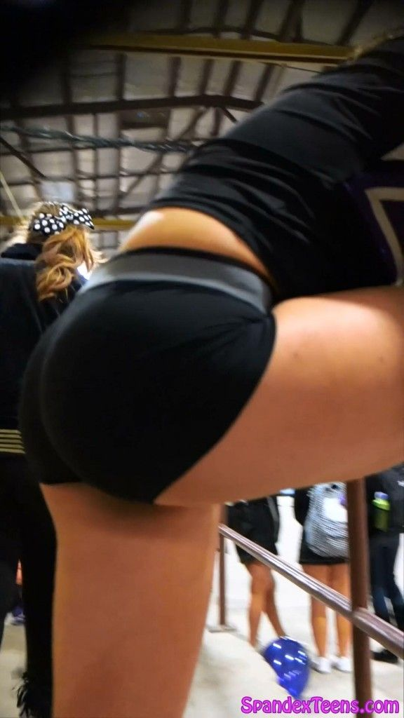 Young ass bent over