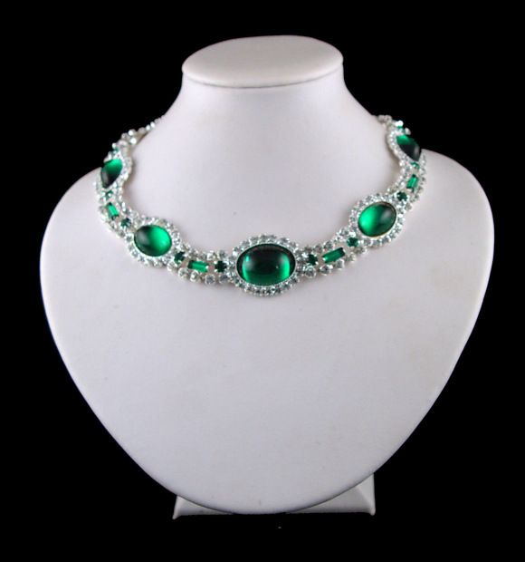 Princess Diana Emerald Choker