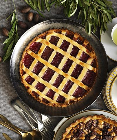 Raspberry Crostata | RealSimple.com