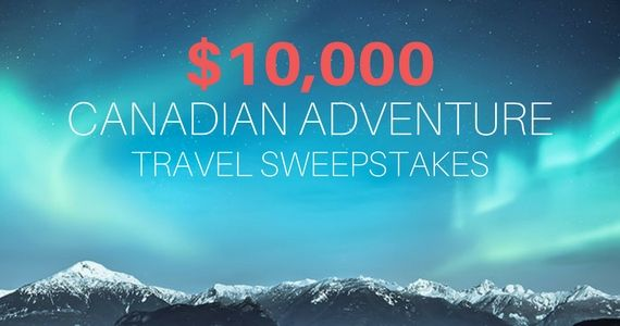 Win a $10,000 Canadian Adventure