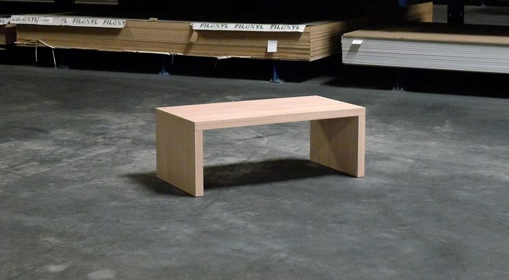 Chloe low Coffee table for interior - contract use Veneered mdf, available in many finishes and colors.