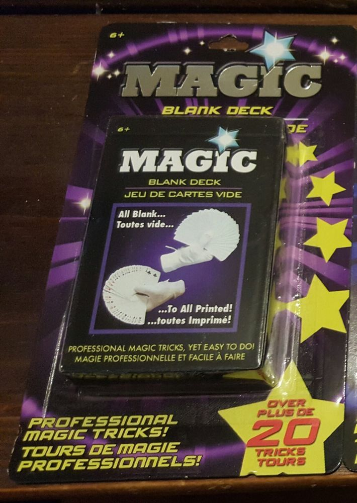"Magic ""Blank"" Deck"