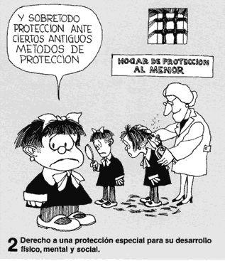 Los Derechos del Niño      En el año 1977 Quino, creador de Mafalda, crea a petición de Unicef, unas ilustraciones en las que Mafalda re...