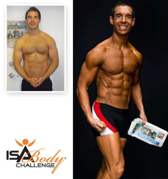 Isagenix Before & After - Brandon C. #Fitness