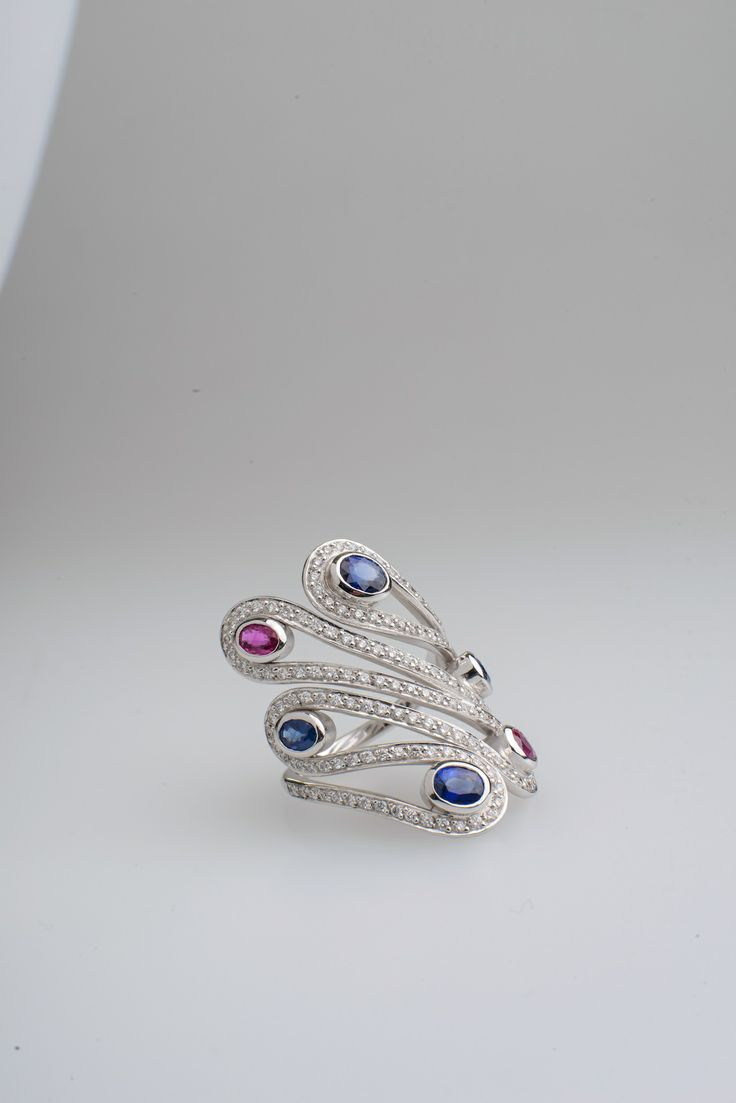 Sapphires, Rubies and Diamonds..