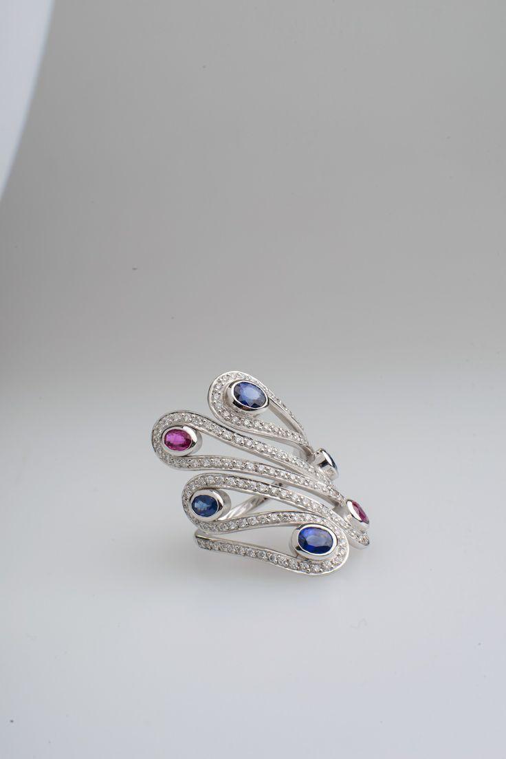 Sapphires, Rubies and Diamonds..