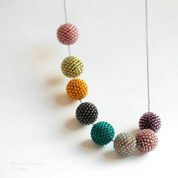 This is what I'm going to do with the beads I'm making.