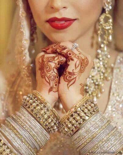 Henna art mehndi. Traditions. Pakistani wedding cultural ♥