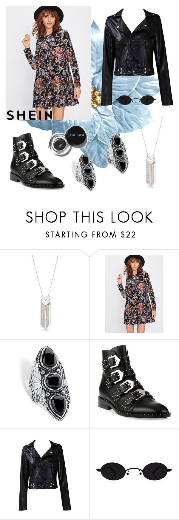 """""""Floral"""" by irissa997 ❤ liked on Polyvore featuring New Directions, Palm Beach Jewelry, Givenchy, Taya and Bobbi Brown Cosmetics"""