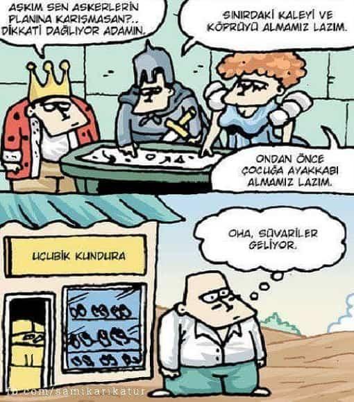 Savaş ve Kadınlar Karikatürü Özer Aydoğan | Karikatürname