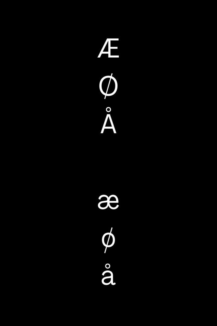 The Norwegian Alphabet Life In Norway In 2020 Norwegian Norwegian Words English Alphabet