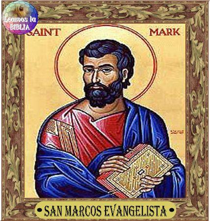 Leamos la BIBLIA: San Marcos Evangelista