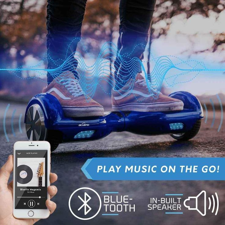 BLUEFIN™ 6.5″ CLASSIC HOVERBOARD SWEGWAY IN BLUE in 2020