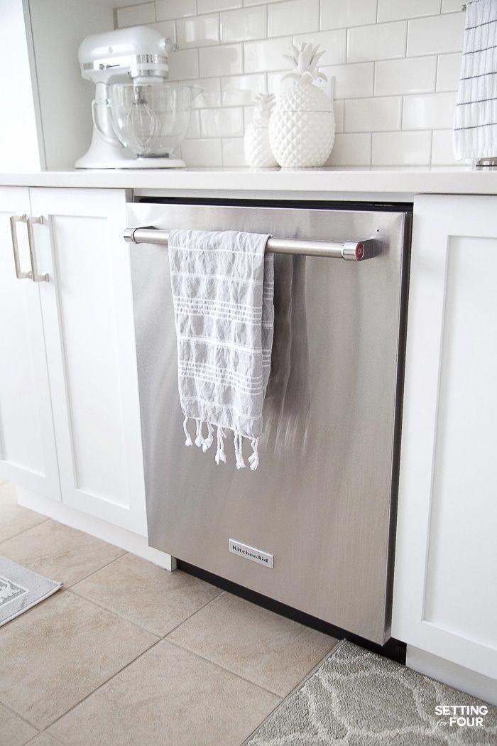 Quiet Kitchenaid Dishwasher Energystar Energy Efficient