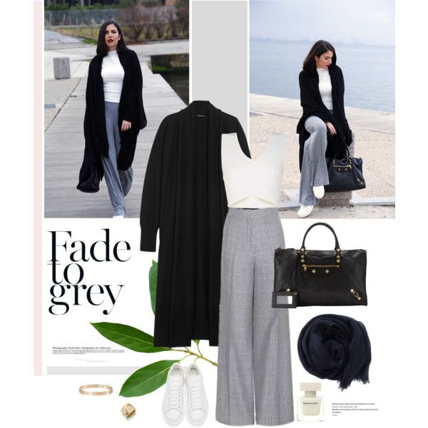 A fashion look from March 2016 by stellaasteria featuring DKNY, BCBGMAXAZRIA, Acne Studios, Alexander McQueen, Balenciaga, Marina B, Cartier, Bajra and Narciso...