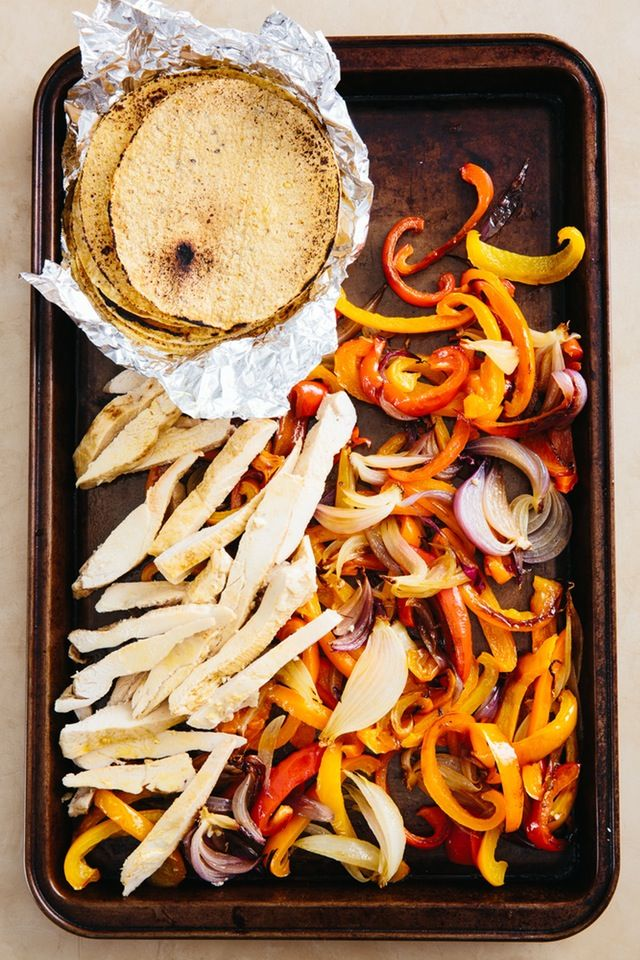 Recipe: Sheet Pan Chicken Fajitas — Recipes from The Kitchn | The Kitchn
