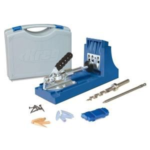Kreg K4 Pocket-Hole System - a must have for pocket-screw joinery.  Wish it wasn't $99.97 though.