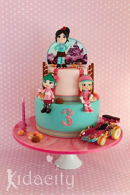 Cake Wrecks - Home - Sunday Sweets: A Disney Movie Marathon, Part 2.  Vanellope's car!!!