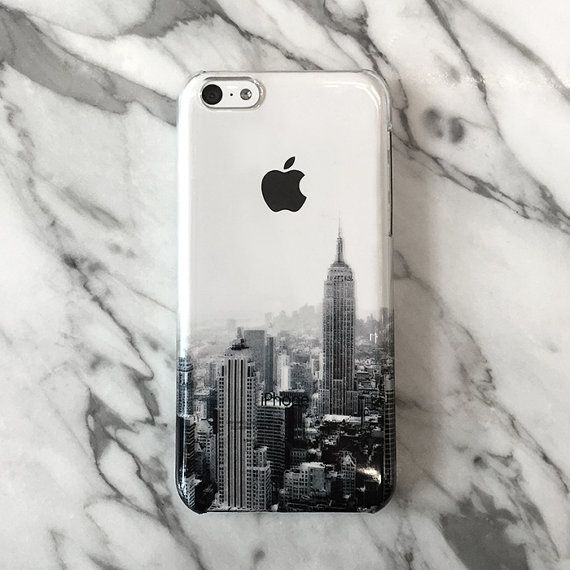 New York cityscape iPhone 6 case iPhone 6s case by Decouart