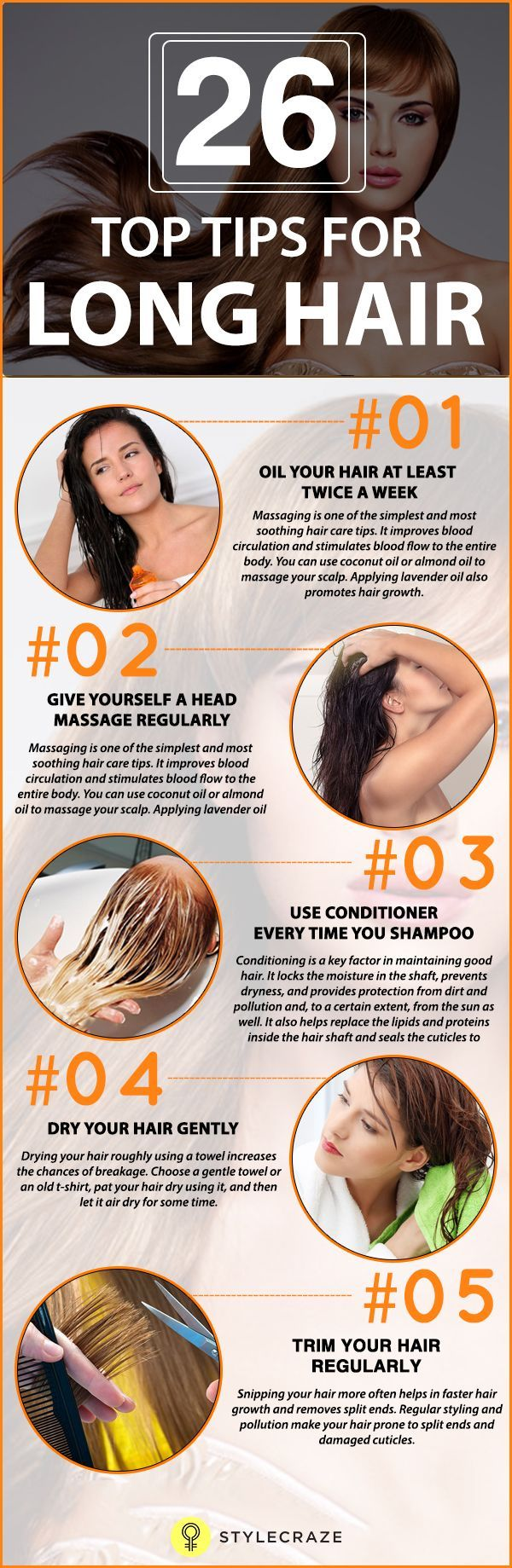 Long, gorgeous,& healthy tresses are every girl's dream, but most of us end up hating our dull and lifeless hair. Here are home remedies for long hair, simple yet effective