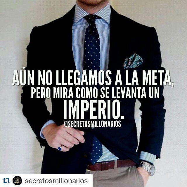#secretosmillonarios  Para los que no creen en tus sueños dilesmira como se levanta un imperio  #mentesmillonarias #luxury #exito #motivation #libertadfinanciera #emprendedor #colombia #repost #2016 #metas #frases #empresario #money #millonario