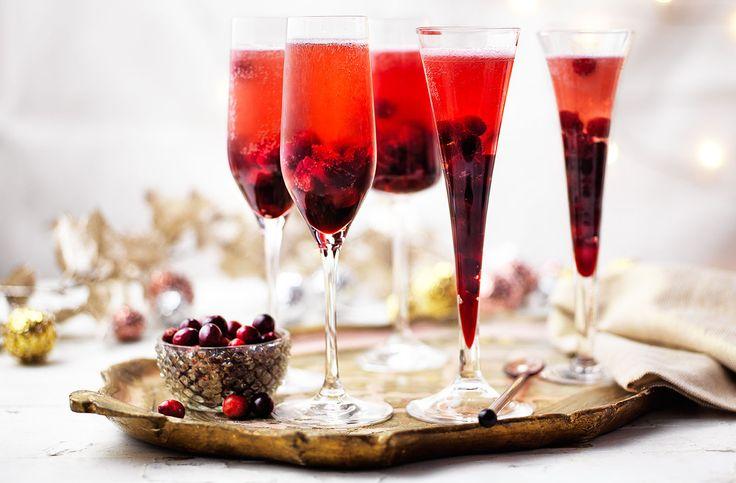 Festive Prosecco Sangria