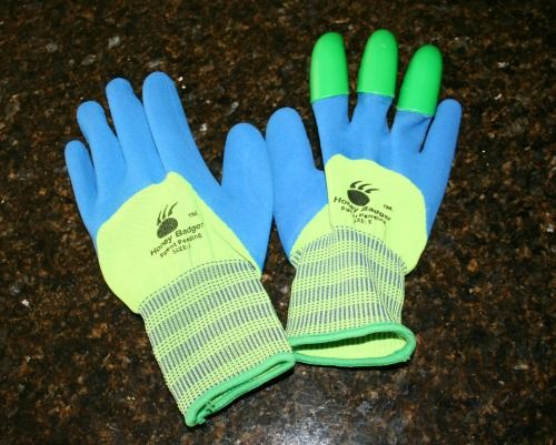 The only garden glove you need! Honey Badger gloves.