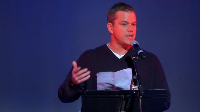 "Matt Damon reads from Howard Zinn's speech ""The Problem is Civil Obedience"" (November 1970). Matt Damon, a lifelong friend of Howard Zinn an..."