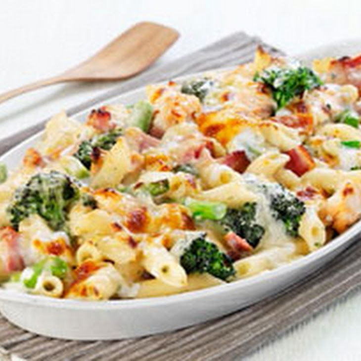 Cheesy Ham and Broccoli Pasta Bake Recipe Main Dishes with penne pasta ...