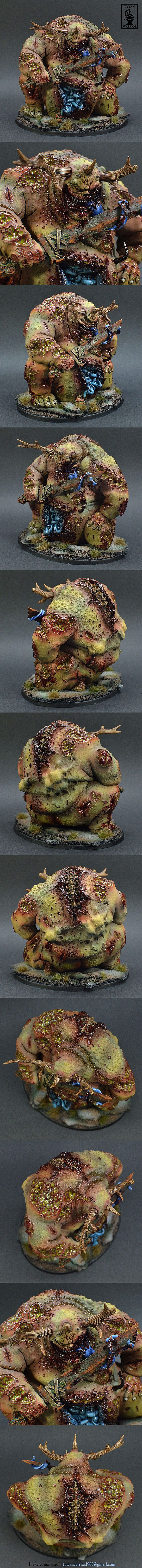 FORGE WORLD GREAT UNCLEAN ONE GREATER DAEMON OF NURGLE