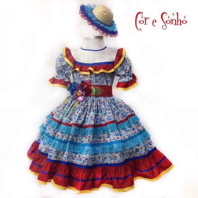 Vamos deixar nossas meninas lindas para o dia de São João     quadrilha   festajuninha  coresonho  juni…  6ffc793b187