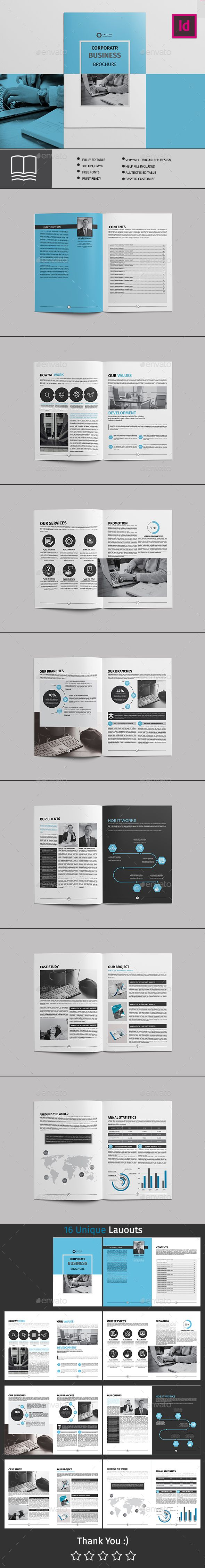 Best Brochures Template Images On   Brochure