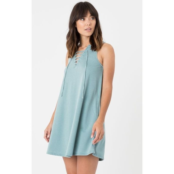 All Tied Up Dress - Lagoon