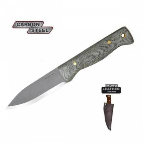 Bushlore Knife, Black Micarta Handle, Plain  is available at $93.48 USD in The Woodlands TX, 77380.