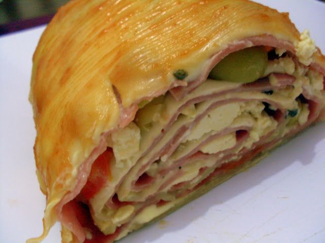 Pitadinha: Rocambole de massa de pastel