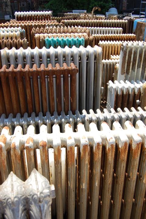 rows of radiators -★-